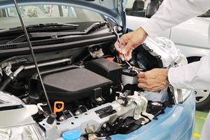 近年人気のハイブリッド車も自社で整備可能!!