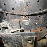 日野自動車 トラック バッテリーケース 取り付けブラケット 溶接