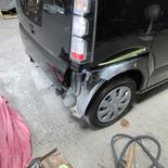 ホンダ N-BOX リヤバンパー リヤフェンダー 鈑金・塗装